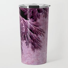 Frost in pink Travel Mug