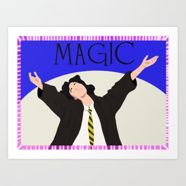 Definitely Not A Muggle Art Print