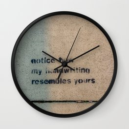 Cemented Series 4 Wall Clock