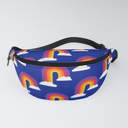 Rainbow Skies Fanny Pack