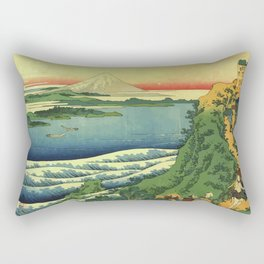 Ancient Japan Rectangular Pillow