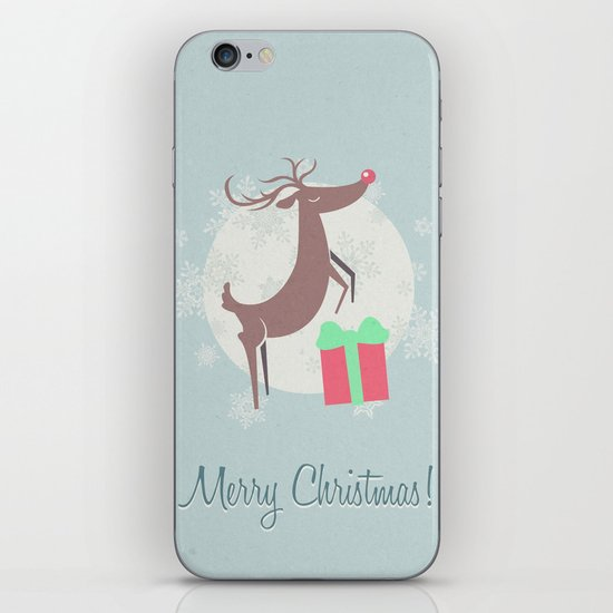 Merry Christmas! iPhone & iPod Skin