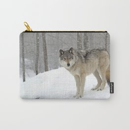 A lone wolf Carry-All Pouch