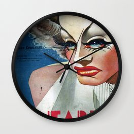 CineArte 1936 Joan Crawford Wall Clock