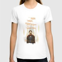 merlin T-shirts featuring Merlin: Myth and Magic by Adam Dens