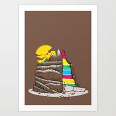 The Grand-CAKE'nyon Art Print