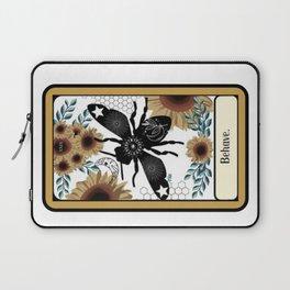 Behave Bee Hive Bumblebee Tarot Laptop Sleeve
