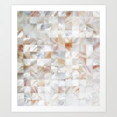 Mother of Pearl #society6 #decor #buyart Art Print