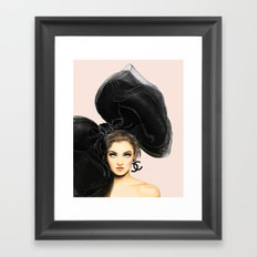 Coco Babe Framed Art Print