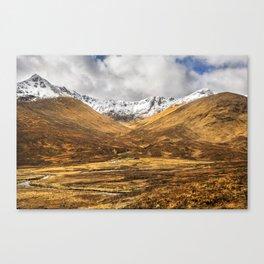 Golden Valley. Canvas Print