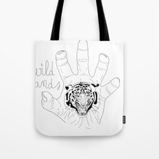 Wild hands Tote Bag