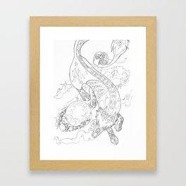 Gern Finds A World Framed Art Print