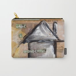 What A Wonderful World Carry-All Pouch