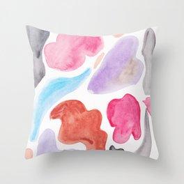 8   | 200131 | Organic Shapes Design | Watercolor Art | Minimalist Art Throw Pillow