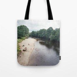 Along the river... Tote Bag