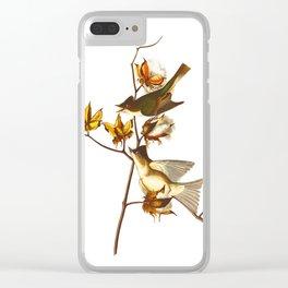 Pewit Flycatcher Bird Clear iPhone Case