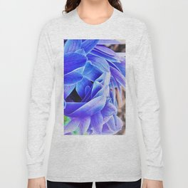 blue anemone Long Sleeve T-shirt