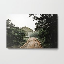 Into the Jungle Metal Print