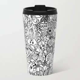 Space Doodles Travel Mug