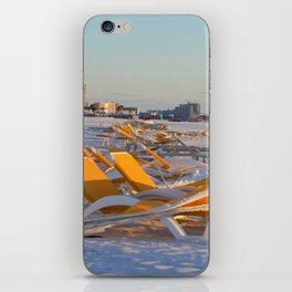Calm Chaos at the Beach iPhone Skin