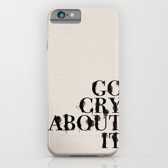 Cry iPhone & iPod Case