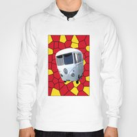vw Hoodies featuring Mc VW by Bruce Stanfield