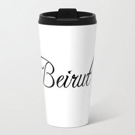 Beirut Travel Mug