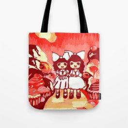 Lollipop Girls. Tote Bag