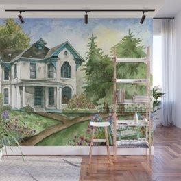 Garden House Wall Mural