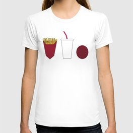 Aqua teen hunger force minimalist  T-shirt