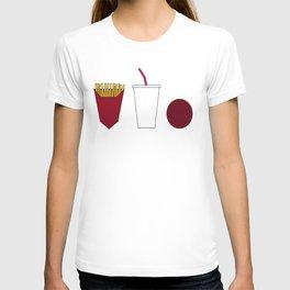 Aqua teen hunger force minimalist  T-shirt