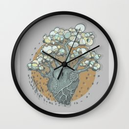 COLORtemple Wall Clock