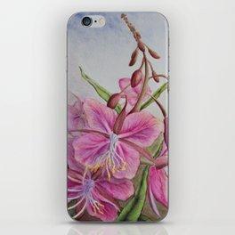 Fireweed iPhone Skin