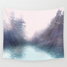 Calm reflexion Wall Tapestry