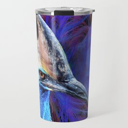Feathered Cassowary Travel Mug