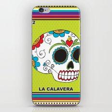 La Calavera iPhone & iPod Skin