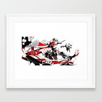 rwby Framed Art Prints featuring RWBY: Ruby Rose  by Proteus Muna