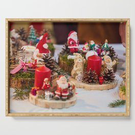 Christmas souvenirs Serving Tray