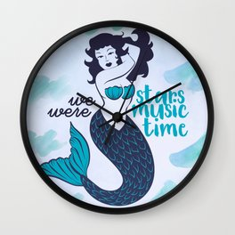 STARS, MUSIC & TIME Wall Clock
