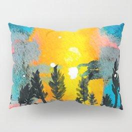 Beach Grass Sunset Pillow Sham
