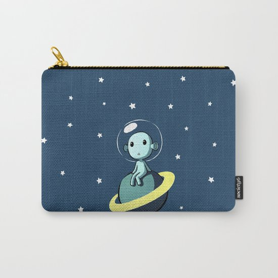 Space Alien Carry-All Pouch