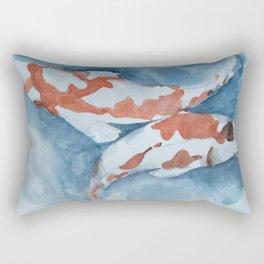 koi garden Rectangular Pillow