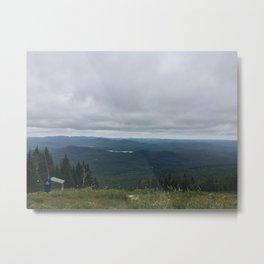 Mountain View   Montreal Metal Print