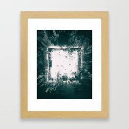 CLEANROOM WHITE Framed Art Print