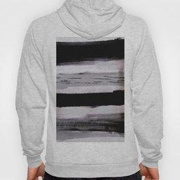 Gloomy black and grey view Hoody