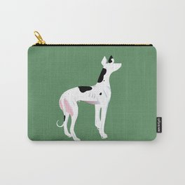 The Greyhound- Cow Spot Carry-All Pouch