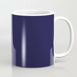 Blue Yacht Solid Summer Party Color Coffee Mug