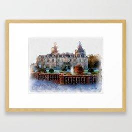 CHATEAU DE MODAVE Framed Art Print