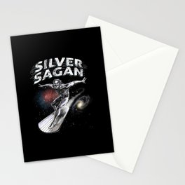 Silver Sagan Stationery Cards