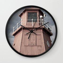 Herd Groyne Lighthouse, South Shields Wall Clock
